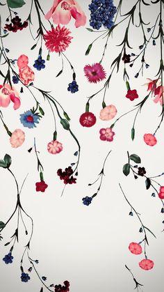 Flowery Wallpaper, Iphone Background Wallpaper, Tumblr Wallpaper, Screen Wallpaper, Mobile Wallpaper, Pattern Wallpaper, Gray Wallpaper, Apple Watch Wallpaper, Whatsapp Wallpaper