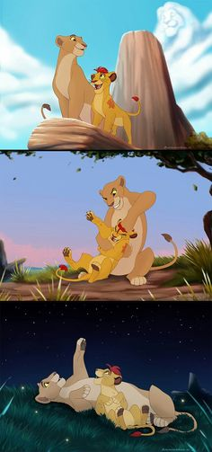 Comm: kopa, kiara then kion Early Morning, Long Day, Starry Night by animon Kiara Lion King, Lion King 3, Lion King Fan Art, Lion Art, Simba And Nala, Le Roi Lion Disney, Disney Lion King, Lion King Pictures, Lion King Hakuna Matata