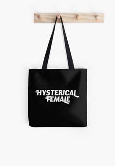 Tote Bag. Mug. Super cute tote bag! Hysterical female tote! Nevertheless she persisted. Stand for womens rights. Women quotes. Empowering quotes. Empowering women quotes. Political quotes. Great gift for moms. Great gift for girlfriends. Girlfriend gifts. Summer outfit for women. Gifts for women. Feminist shirt. Feminist aesthetic. Human rights quotes. Feminist quote. Equality art. Feminism quotes. Motivational quotes. LGBTQ. Gay pride. LGBT. Equality quote. girl power.