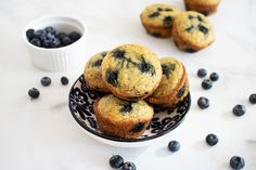 Healthy Blueberry Muffin Recipe With Collagen - Perfect Keto Pumpkin Waffles, Baked Pumpkin, Healthy Blueberry Muffins, Blue Berry Muffins, Muffin Recipes, Snack Recipes, Keto Recipes, Breakfast Recipes, Dinner Recipes