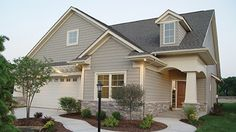 Home Plan is a gorgeous 1580 sq ft, 1 story, 2 bedroom, 2 bathroom plan influenced by Ranch style architecture. Craftsman Style House Plans, Ranch House Plans, New House Plans, Small House Plans, House Floor Plans, 2 Bedroom House Plans, Farmhouse Plans, Home Design Plans, Building A House