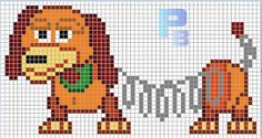 MINECRAFT PIXEL ART – One of the most convenient methods to obtain your imaginative juices flowing in Minecraft is pixel art. Pixel art makes use of various blocks in Minecraft to develop pic… Hama Beads Patterns, Hama Beads Design, Beading Patterns, Disney Cross Stitch Patterns, Cross Stitch Designs, Cross Stitching, Cross Stitch Embroidery, Stitch Toy, Modele Pixel Art