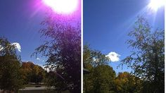 Apple says purple fringing on iPhone 5 camera is normal | A purple flare around the edge of your iPhone 5 camera snaps is perfectly normal, according to Apple. Buying advice from the leading technology site