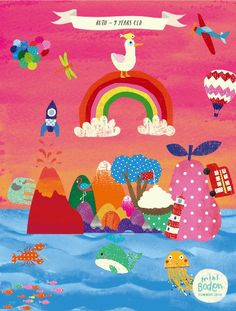 Here's the Mini Boden cover we created to raise money for Kids Company - Mini Boden, How To Raise Money, Summer 2014, Art For Kids, Kids Rugs, Create, Children, Cover, Decor