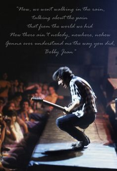 """Bobby Jean"" - Bruce Springsteen"