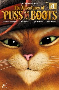 Puss in Boots is back! Short of money and with a long milk tab to pay, Puss answers an advert that takes him out to sea with a cranky Fearsome Foursome, Poop Deck, Dreamworks Animation, Disney Marvel, Shrek, Disney Frozen, Disney Movies, Fairy Tales, Comic Books