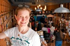 "Best-selling author Ann Patchett thought about opening a bookstore in downtown Nashville, but people thought it was a supid idea. They told her, ""You might as well be selling eight-track tapes,"" Prachet said. ""It's dead; it's over.""    People were wrong. Her store, Parnassus Books is thriving."