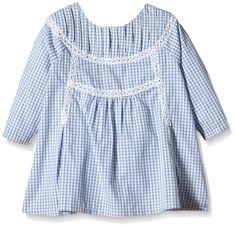 Neck & Neck - Camisa para niña, color light blue / azul claro 21, talla 10A