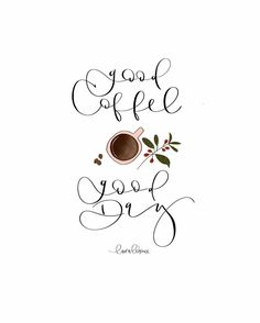 This is so beautiful coffee art. I'm totally inspired to try some pretty lettering with my favorite coffee quote now too! Coffee Talk, Coffee Is Life, I Love Coffee, Coffee Shop, Coffee Coffee, Coffee Lovers, Coffee Quotes, Coffee Humor, Image Deco