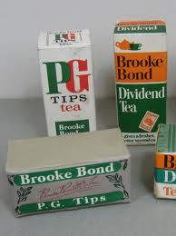vintage tea packets brooke bond - Google Search