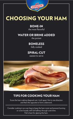Easter dinner will be here before you know it! Here are some helpful tips for choosing and cooking your Easter ham.