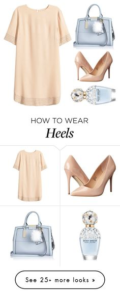 """Untitled #4890"" by prettyorchid22 on Polyvore featuring H&M, River Island, Madden Girl, Marc Jacobs, women's clothing, women, female, woman, misses and juniors"