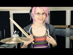 Haunted Disturbed Drum Cover. Female Drummer