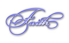 Faith title free svg file