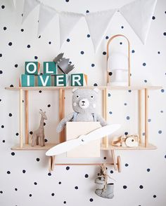 Making Your Shelf Display Look Great! Our favourite figurines, toys and more for Shelfie Favourites! http://petitandsmall.com/shelf-accessories-kids-room/