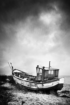 old boat by BelcyrPiotr.deviantart.com on @deviantART