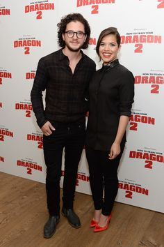Kit Harington Photos: 'How to Train Your Dragon 2' Screening in NYC