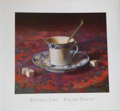 Randall Lake  Italian Tea Cup
