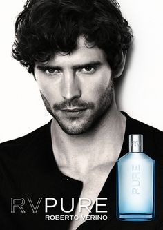 RV Pure Roberto Verino cologne - a fragrance for men 2011 Perfume Ad, Solid Perfume, Marine Deleeuw, 50 Hair, Dominique, Light Hair, Guy Pictures, Male Beauty, Cologne