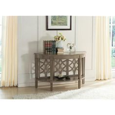 Riverside Parkdale Demilune Sofa Table | from hayneedle.com
