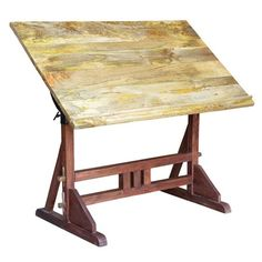 Beautiful Industrial Drawing Table