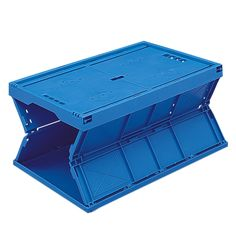Re-Usable Folding Distribution Euro Containers Space Saving, Workplace, Euro, Catalog, Container, House, Home, Haus, Canisters