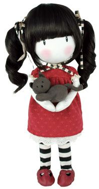 Santoro - Gorjuss : Ruby Collectable Doll