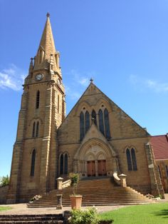 Winburg, Free State, South Africa Beautiful Buildings, Beautiful Places, Church Pictures, Namibia, Free State, Church Architecture, Cathedral Church, Old Churches, Church Building