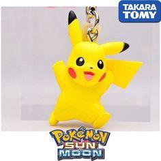 GASHAPON TOMY TAKARA Pokemon Sun and Moon Netsuke Mascot Cellphone Strap PIKACHU #Pokemon