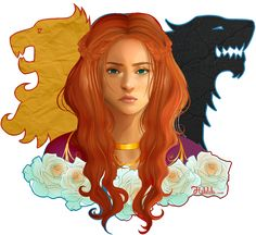 Sansa Stark    http://halalela.tumblr.com/post/84333334854/youve-got-the-words-to-change-a-nation-but-youre