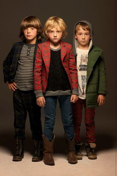 Burberry childrenswear. A little upscale for me, but I like the styling.