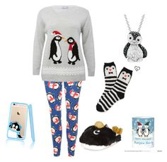 """""""Penguin"""" by beautiful-madnes ❤ liked on Polyvore featuring WearAll, Aéropostale, M&Co and Amanda Rose Collection"""