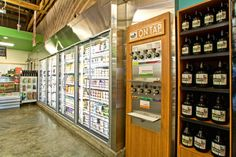"""Green Zebra grocery in Portland is CSNews' store of the month January 2014. Store design by King Retail Solutions (""""KRS"""")."""