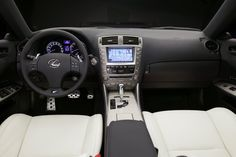 This is what the inside of my Lexus looks like, except my seats are black.