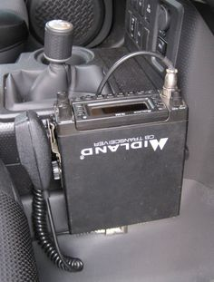 Project Toyota FJ Cruiser - Good place to Mount a CB Radio in an FJ Cruiser