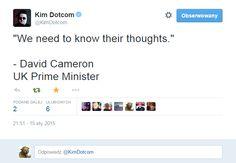 Kim Dotcom quotes David Cameron