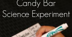 A simple sink or float science experiment for kids using candy