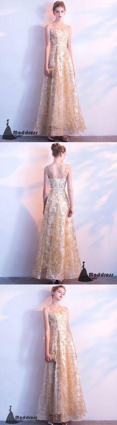 Elegant Long Prom Dresses Lace V-Neck Evening Dress A-Line Formal Dress,HS509  #prom #promdress #promdresses #longpromdress #promgowns #promgown