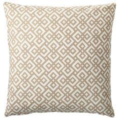 Serena & Lily Bone Lattice Pillow Cover ($64) via Polyvore
