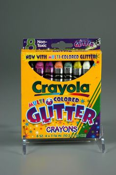 Crayola Glitter Crayons. I loved these. Until all the glitter clumped on the tip and they wouldn't work :P