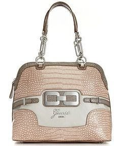 GUESS Handbag, Mikelle Dome Satchel - Macy's - na