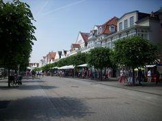 Travemuende-Vorderreihe -The shopping street Vorderreihe