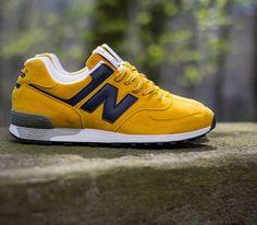 New Balance 576-Yellow-Navy-White