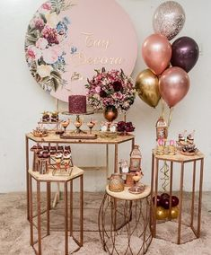 Image may contain: indoor 30th Birthday Themes, Birthday Room Decorations, Girl Baby Shower Decorations, Balloon Decorations, Birthday Parties, Wedding Decorations, Flamingo Birthday, Birthday Balloons, Gold Party