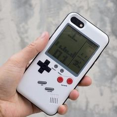 GAMEBOY iPhone Shell  The mobile phone shell is actually a complete GAMEBOY handheld, can let you back in the leisure time of the classic Tetris, tanks, and other games F1 racing and legend Snake. Of course, with the progress of science and technology, the mobile phone shell is certainly not as thick as the original GAMEBOY console , even using together with iPhone will not be too cumbersome.   #GAMEBOYiPhoneShell