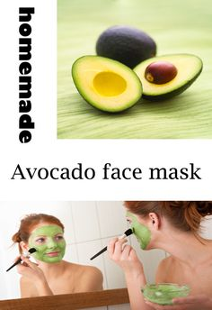 Avocado Face Mask:    Ingredients:  1/2 soft avocado  2 tbs hot water  1 ts honey  the avocado face mask reaches the deepest layers of the epidermis and gives elasticity even to the driest skin | Learn about easy #homemade #face #masks http://easyhomemadefacemasks.blogspot.com/2012/12/easy-homemade-face-masks-which-actually.html