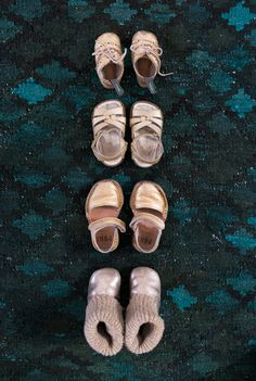 Oh Joy | Ruby's Gold Shoes - documenting my daughter's little outgrown shoes as she gets bigger