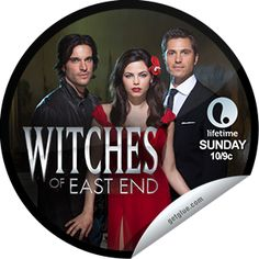 Steffie Doll's Witches of East End: Potentia Noctis Sticker | GetGlue