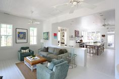 Amy Trowman Design - Beach Houses - beach style - family room - charleston - Matthew Bolt Graphic Design