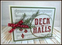 Stampin' Up! Carols of Christmas 3-Way Friday - 5